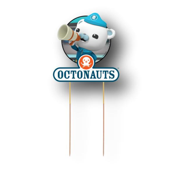 Octonauts Card Cake Topper