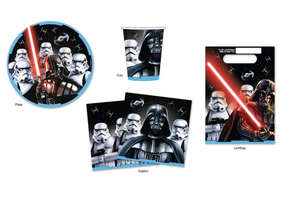 Star Wars 40 Piece Party Pack