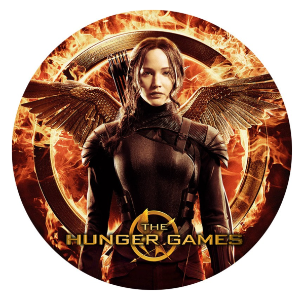The Hunger Games Edible Cake Topper