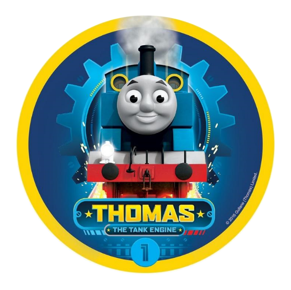Thomas Edible Cake topper