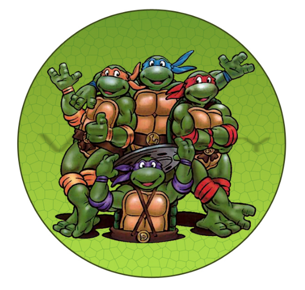 Tmnt Edible Cake Images