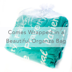 Healing Thoughts Blanket The Perfect Caring Gift (Teal)