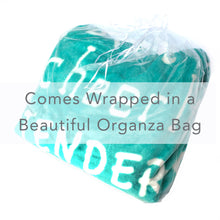 Load image into Gallery viewer, Mother Throw Blanket for Loving, Kind & Inspiring Moms (Teal)