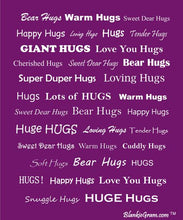Load image into Gallery viewer, Hugs Blanket The Perfect Caring Gift (Purple)