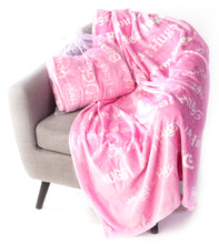 Load image into Gallery viewer, Hugs Blanket The Perfect Caring Gift (Pink)