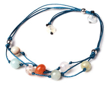 Load image into Gallery viewer, Handmade Blessing Bracelet The Perfect Caring Gift (Blue)