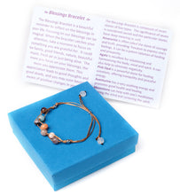 Load image into Gallery viewer, Handmade Blessing Bracelet The Perfect Caring Gift (Tan)