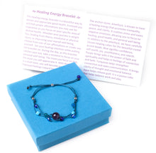 Load image into Gallery viewer, Handmade Healing Energy Bracelet The Perfect Caring Gift (Blue)