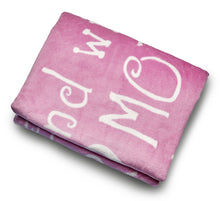 Load image into Gallery viewer, Mother Throw Blanket for Loving, Kind & Inspiring Moms (Pink)
