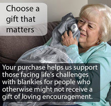 Load image into Gallery viewer, Hugs Blanket The Perfect Caring Gift (Gray)