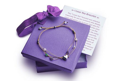 Best Friend Bracelet with a Heart Warming Inspirational Card Presented in a Gorgeous Gift Box: The Perfect Caring Gift by BlankieGram (Tan)