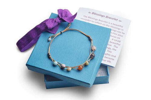 Handmade Blessing Bracelet The Perfect Caring Gift (Tan)