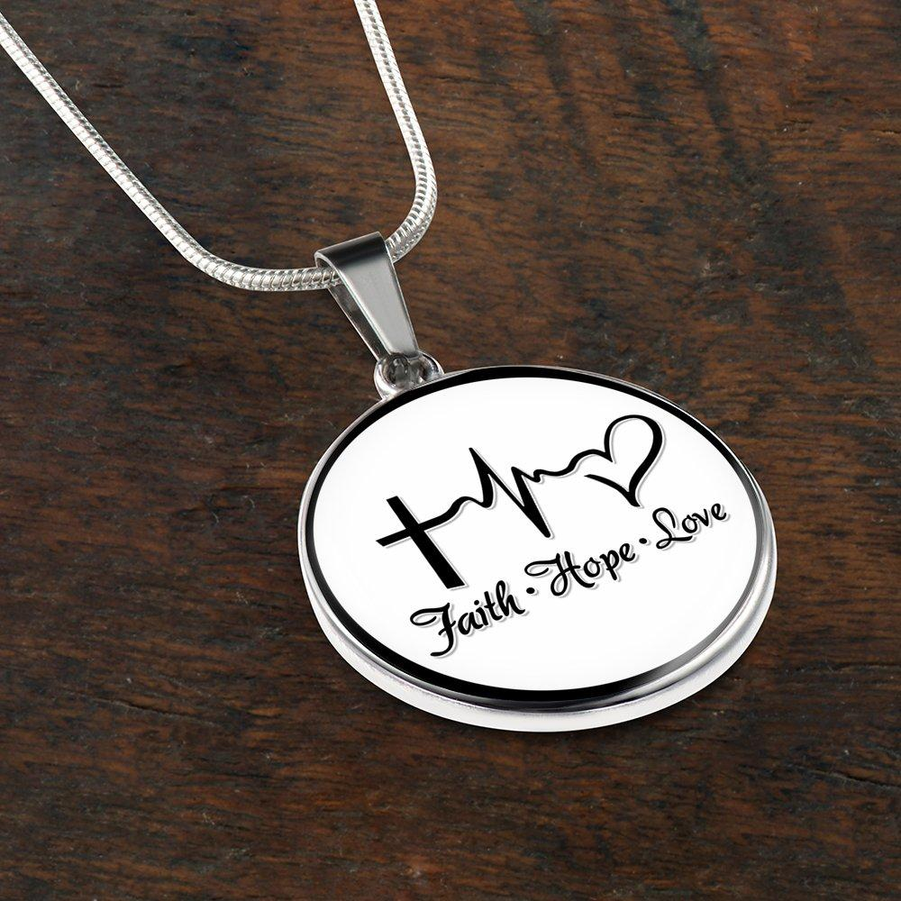 Faith hope love necklace best seller faithabove jewelry faith hope love necklace best seller aloadofball Image collections