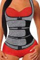 Zipper Front 9 Steel Bones Neoprene Belt Waist Trainer