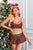 Cute Red Mesh Splicing Plaid Christmas Costume