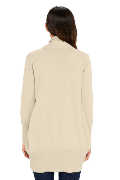 Apricot Super Soft Long Sleeve Open Cardigan