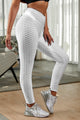 White Perfect Shape High Waist Sprot Leggings