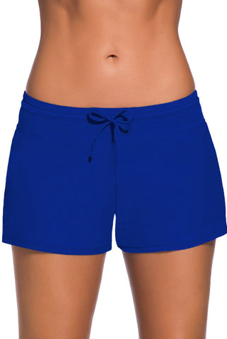 Women's Royal Blue Swim Boardshort