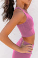 Rosy Wireless Performance Knitted Sports Bra