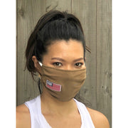 Cotton Flag Anti-Bacterial Face Mask (PACK of 5)