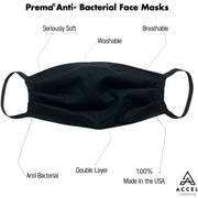 Prema® Anti-Bacterial Face Mask (PACK of 10)