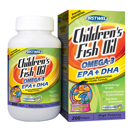 兒童魚油 (Children's Fish Oil) 200's