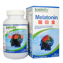 腦白金 (Melatonin) 100's