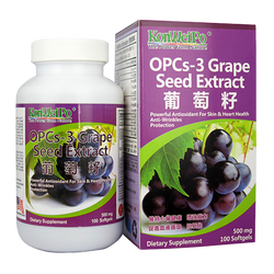 葡萄籽 (OPCs-3 Grape Seed Extract) 100's
