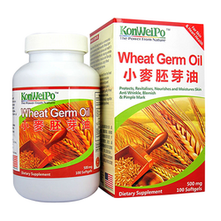 小麥胚芽油 (Wheat Germ Oil) 100's
