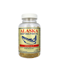 阿拉斯加深海魚油 (Alaska Deep Sea Fish Oil) 100's