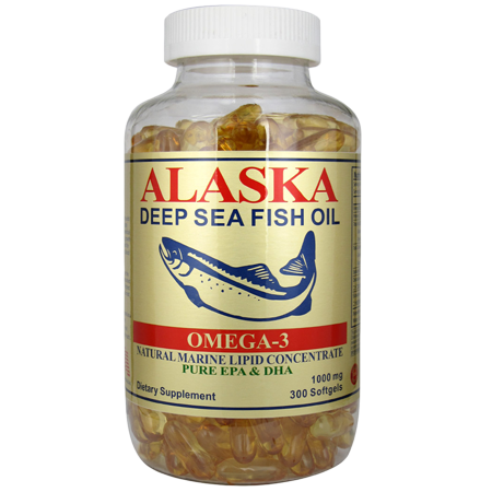 阿拉斯加深海魚油 (Alaska Deep Sea Fish Oil) 300's