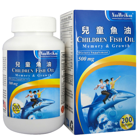 兒童魚油 (Children fish oil) 200's