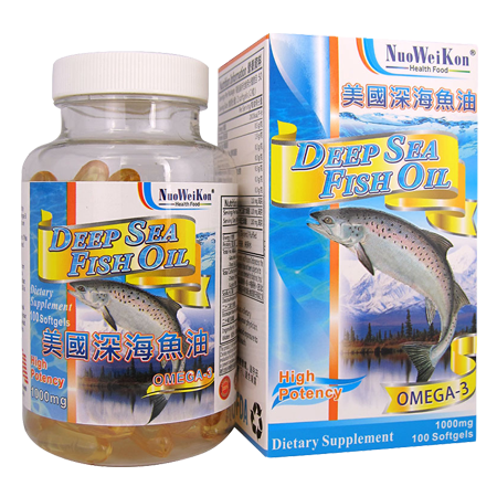 美國深海魚油 (Deep Sea Fish Oil) 100's