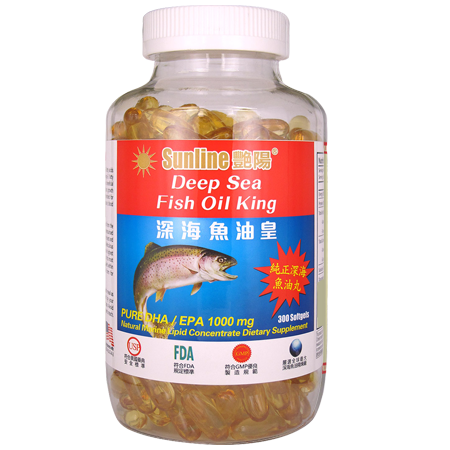 艷陽魚油皇 (Deep Sea Fish Oil King) 300's