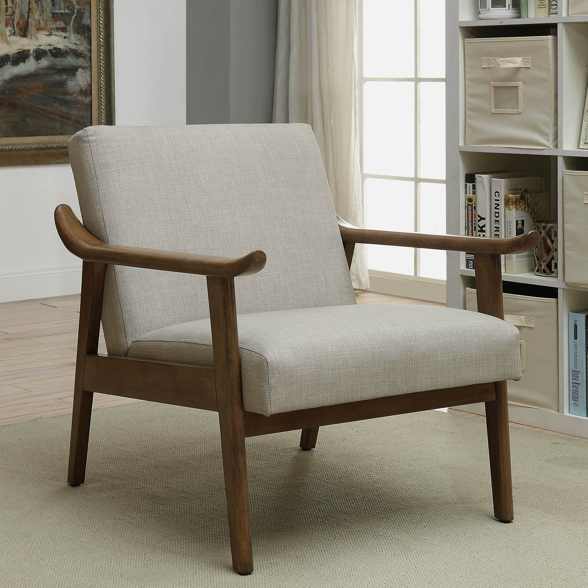 accent arm product homepop swoop kate chair tufted