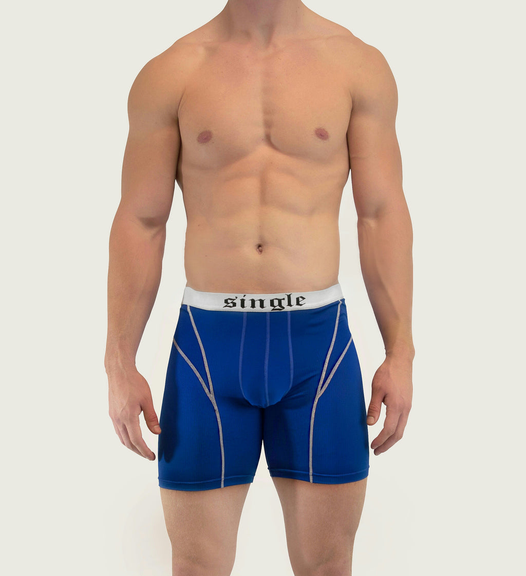 Blue Single Underwear Performance Model