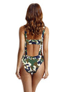 Zeraca Women's Half Cut One Piece Monokini Bathing Suits - zeraca