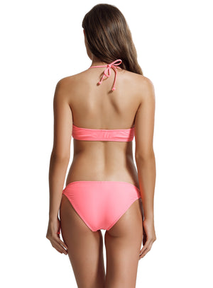 Zeraca Women's Tie Side Bottoms Bralette Bikini Bathing Suits - zeraca