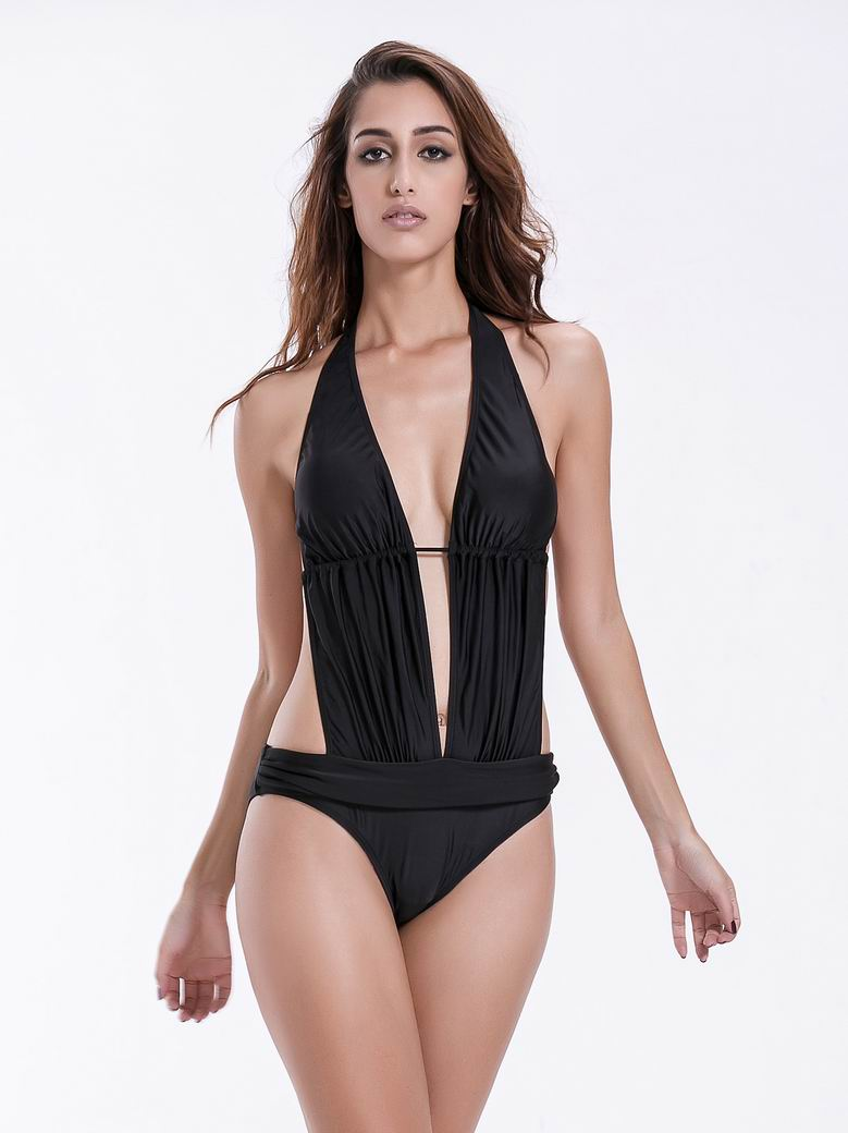 ff8a0c5021d08 Zeraca Women s Deep Plunge Low Waisted One Piece Swimsuit Bathing Suit -  zeraca