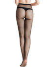 Zeraca Women's 80 Denier Sheer To Waist Opaque Footed Tights 3 Pairs