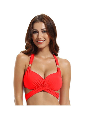 Zeraca Women's Unforgettable Wrap-around  Bikini Top - zeraca