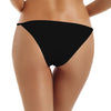 Reteron Women's Brazilian String Bikini Bathing Suit Bottoms 2 Pack