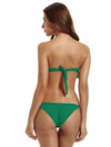 Zeraca Women's Single Rise Scrunch Bikini Bottom - zeraca