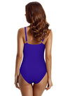 Zeraca Women's Tummy Control Ruched One Piece Swimsuit