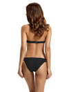 Zeraca Strappy Bottom Halter Push Up Bikini Bathing Suits