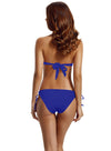 Zeraca Women's Cheeky Bottom Solid Halter Triangle Bikini Bathing Suits - zeraca