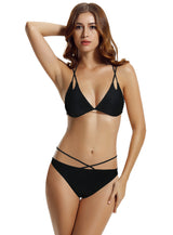 Zeraca Women's Sexy Strappy Triangle Bikini Bathing Suits