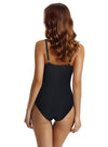 Zeraca Women's Deep V Neck Low Cut One Piece Swimsuit