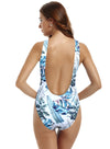 zeraca Women's High Cut Low Back One Piece Bathing Suits Swimsuits - zeraca