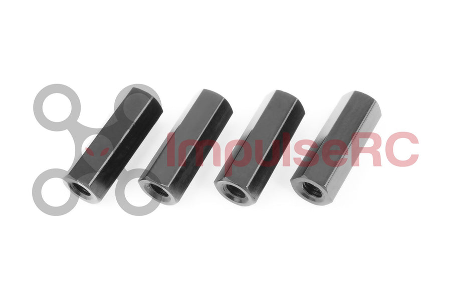 Pack of 10 4.5 mm Hex Size Small Parts M452512HMA Aluminum Male-Female Threaded Hex Standoff M2.5 Thread Size 12 mm Length